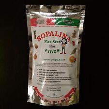 Nopalina Flax Seed Plus Fiber Formula Contains Omega 3, 6, & 9 - 16 oz.