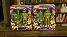 NECA Teenage Mutant Ninja Turtles In Time Raphael and Michelangelo New