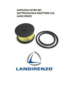 FILTRO CARTUCCIA PER RIDUTTORE LI10 GAS GPL LANDI RENZO LI 10 + GUARNIZIONI
