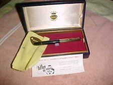 Discontinued  - 18K GOLD CAP - AURORA 88  -  LUXURY FOUNTAIN PEN - PLUSH CASE