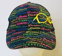 Destin Florida Baseball Cap Hat Souvenir Adjustable Strapback Mesh Back