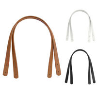 2Pcs/Set Fashion Detachable PU Leather Strap Belt Replacement Handle For Handbag