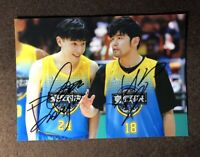 Hand signed Allen Deng Lun Jay Chou autographed photo 5*7 Game On 我要打篮球 邓伦 签名照