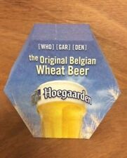 Hoegaarden Belgian Wheat Beer Coasters - (25) Pack - New & Free Shipping