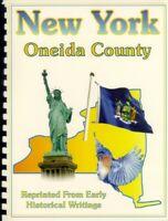 NY Oneida County 1841 Barber-Howe history Utica Rome Kirkland Trenton New York