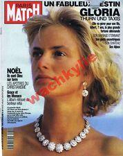 Paris Match n°2170 du 27/12/1990 Gloria Thurn und Taxis Noêl etaix Fratellini