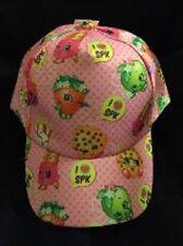 SHOPKINS HAT BASEBALL CAP GIRLS COSTUME BIRTHDAY GIFT ADJUSTABLE NEW PINK NWT