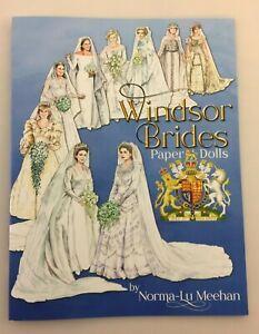WINDSOR BRIDES Paper Dolls - Queen Mother, Elizabeth II, Princess Margaret, more