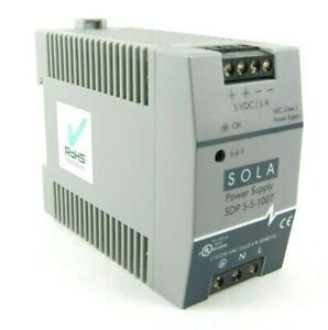 SOLA SDP 5-5-100T Power Supply EGS Hevi-Duty 5A SDP5-5-100T