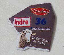 36 INDRE  MAGNET LE GAULOIS CARTE NOUVELLE COLLECTION DEPARTAIMANT
