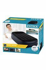 New Intex Dura-Beam Standard Inflatable Single Mattress with in-built Pump