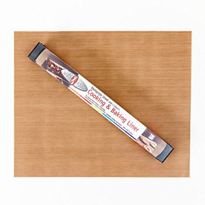 Bake-O-Glide STD0150 Non Stick Reusable Cooking/Baking Sheet, Brown