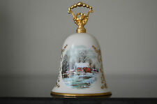 1978 Currier & Ives Christmas Bell (Gorham Fine China) #L