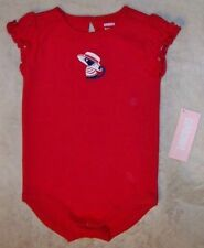 NWT 3-6 M Gymboree VENICE SWEETIE Red Kitty Hat S/S Bodysuit 1pc Top
