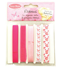 Fizzy Moon - Hearts & Butterflys - Ribbon Pack for cards and crafts