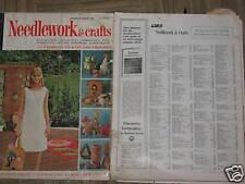 McCALLS NEEDLEWORK & CRAFTS MAGAZINE-2 issues-1967-68
