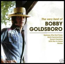 BOBBY GOLDSBORO - BEST OF CD ~ SUMMER (THE FIRST TIME) 70's GREATEST HITS *NEW*