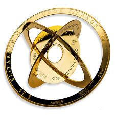 2015 1 oz Cook Islands $100 Gold Armillary Coin Valcambi - SKU #92288