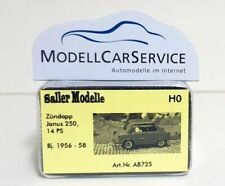 Saller Modelle 1/87: A8725 Zündapp Janus 250 (1956-58), hellblau
