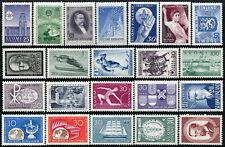 Finland: 1955-1962 Mnh Commemoraties (22)