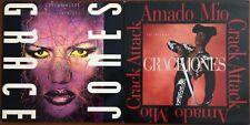 "GRACE JONES RARE 1989 USA 2x 12"" DJ VINYL Lot Amado Mio / Love On Top (Killer"