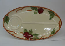 """Franciscan Apple 1 TV Tray with Cup Well 14"""""""