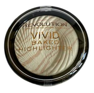 REVOLUTION VIVID BAKED HIGHLIGHTER SHADE MATTE LIGHTS NEW