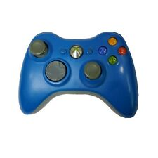 Microsoft Xbox 360 Blue Wireless Controller Tested OEM Genuin