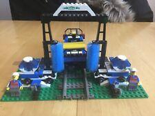 Lego system 9v Train 4553 lego system train wash.