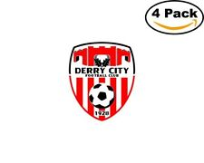 derry city fc 1928 4 Stickers 4x4 Inches Sticker Decal