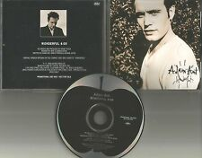 ADAM ANT Wonderful ULTRA RARE 1995 PROMO Radio DJ CD Single USA and the Ants