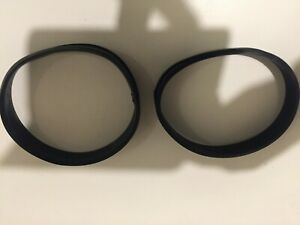 MICRON SILICONE RUBBER MUFFLER SEALS(PR)#GSA00120-SUITS LARGER OVAL SLEEVE
