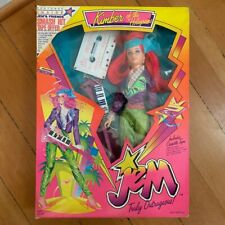 Vintage Jem Doll Kimber of the Holograms 2Nd Edition New in Box 1986 Hasbro