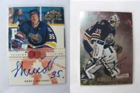 1999-00 UD MVP SC Edition C-DS Shvidky Denis prosign autograph  spokane