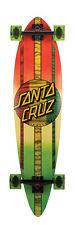 "SANTA CRUZ Longboard Complete MAHAKA RASTA FADE 9.58"" x 39"" Pintail"