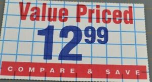 Value Priced 12.99 Compare And Save Graph Paper Style Vintage Paper Ephemera