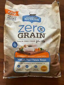 Rachael Ray Nutrish Zero Grain Indoor Weight Control Dry Cat Food, 12 Lbs
