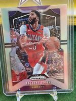 2019-20 PANINI PRIZM ANTHONY DAVIS #222 SILVER PRIZM PARALLEL SP LAKERS
