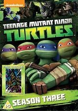 Teenage Mutant Ninja Turtles Season 3 Complete Collection - DVD Region 2 S