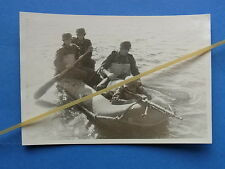 Foto pionieri tempesta pionieri nel gommone con 34 MG
