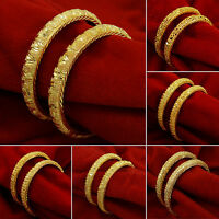 Indian Goldplated Ethnic Kada Bangles Traditional Bracelet Women Wedding Jewelry