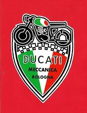 DUCATI MECCANICA Vinyl Decal Sticker ITALY BOLOGNA HOG CAFE RACER INDIAN ARIEL !
