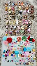 Large Littlest Pet Shop Lot of 65! Cats Dogs Bunny Monkey Minis & Accessories!