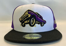 NEW ERA Fresno Grizzlies LOWRIDERS 59FIFTY size 7 3/4 fitted cap hat MiLB RARE