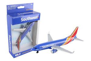 "SOUTHWEST AIRLINES MINIATURE AIRPLANE DARON TOYS DIECAST NIB 5"" Wingspan RT8184"