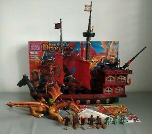MEGA BLOKS 9834 Fire & Ice Dragons Fyren Sea Phoenix Warship Spaces Replacements