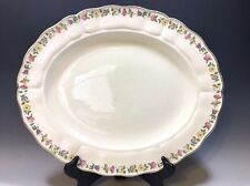 "Vintage Royal Petal Marlborough Grindley England Oval Platter - 14""L"