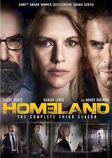 Homeland : Season 3 (DVD, 2014, 4-Disc Set)