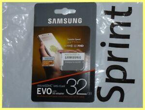 SAMSUNG 32GB EVO MICROSDHC CARD & SD ADAPTER FOR ALCATEL GO FLIP 3 V SMARTFLIP