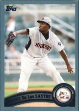 2011 Topps Pro Debut Baseball #81 Miguel De Los Santos Hickory Crawdads